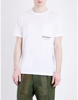 Maharishi Pocket-detailed Cotton-jersey T-shirt