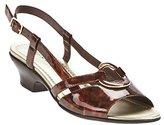 Easy Street Shoes Women's Easy Street, Tempe Low Heel Slingback Sandals