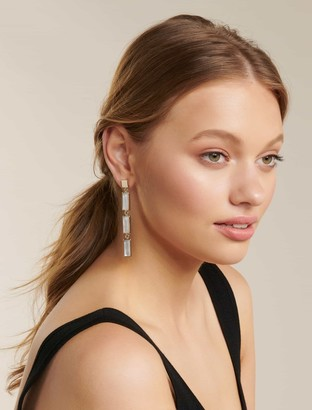 Ever New Shauna Moonstone Column Drop Earrings