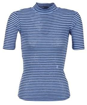 G Star Raw XINVA SLIM FUNNEL women's T shirt in Blue