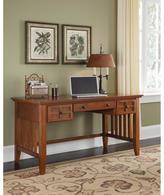 Arts and Crafts Executive Desk - Oak
