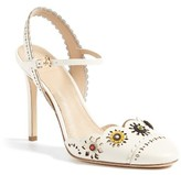 Tory Burch Women's Marguerite Embellished Slingback Pump