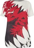 Marina Rinaldi Violino tropical print t-shirt