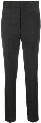 Etoile Isabel Marant Check Slim Fit Trousers