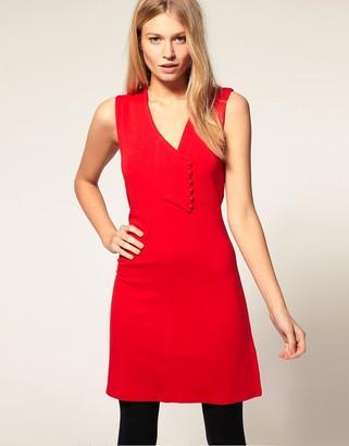 Vero Moda Asymmetric 60's Mini Dress