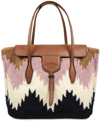 Tod's Medium Shearling Joy Bag
