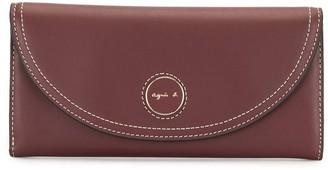 agnès b. Envelope Long Wallet
