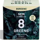 8 Greens Skin Supplement with Marine Collagen, 6 Pack