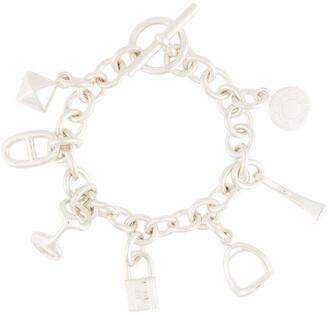 Hermes pre-owned Amulet seven charms bracelet