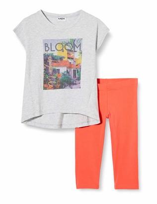 MEK Girl's Compl.t-Shirt+pescatore T/u Clothing Set