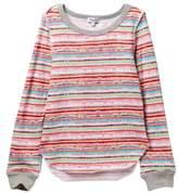 Splendid Stripe Print Sweater (Big Girls)