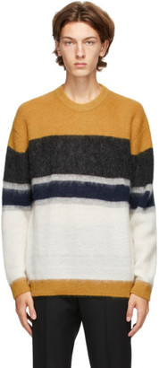 Solid Homme Multicolor Mohair Sweater