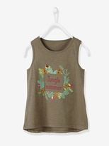 Vertbaudet Girl's Printed Vest Top