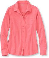 L.L. Bean Women's Bean's Button-Front Shirt