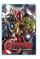 Marvel Avengers Kids 39 X 59 Inch Lightweight Fleece Blanket