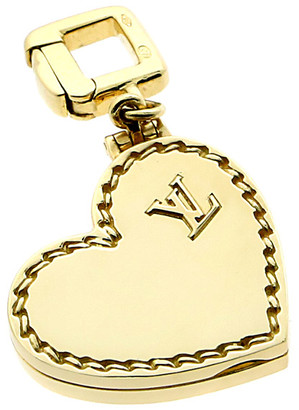 Louis Vuitton Heritage  18K Heart Locket Pendant