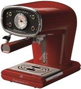 Espressione New Café Retro Espresso Machine, Red - Red