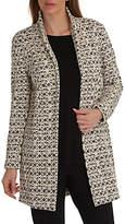 Betty Barclay Textured Jacket, Cream/Black
