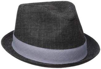 Henschel Men's Cotton Denim Fedora
