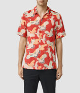 AllSaints Tsuru Short Sleeve Shirt