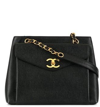 Chanel Pre Owned 1995 CC logo chain shoulder bag
