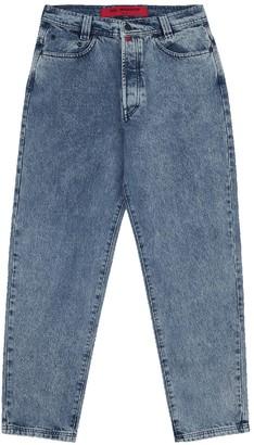 032c Straight-leg Eyelet Denim Jeans