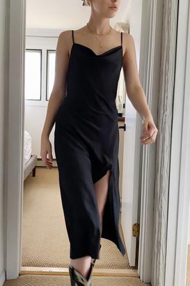 Urban Outfitters Mallory Jacquard Midi Slip Dress