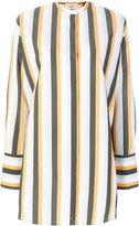 Ports 1961 striped oversized shirt