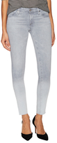 AG Adriano Goldschmied Ankle Distressed Cuff Leggings
