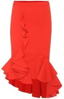 Givenchy Asymmetric Draped Panel Skirt