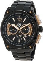 Andrew Marc Men's A21501TP G III Racer 3 Hand Chronograph Watch