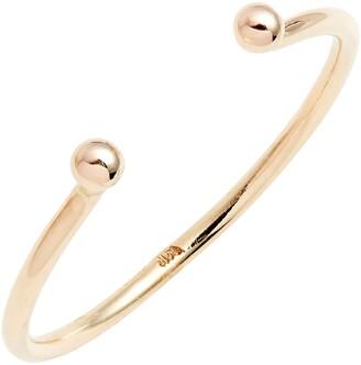 Poppy Finch Open Band Ring