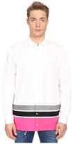 DSQUARED2 Techno Stripe Poplin Shirt