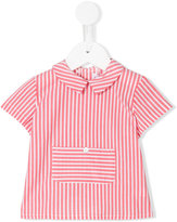 Amaia - striped shortsleeved shirt - kids - Cotton - 6 mth