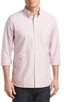 Brooks Brothers Oxford Traditional Relaxed Fit Woven Shirt.