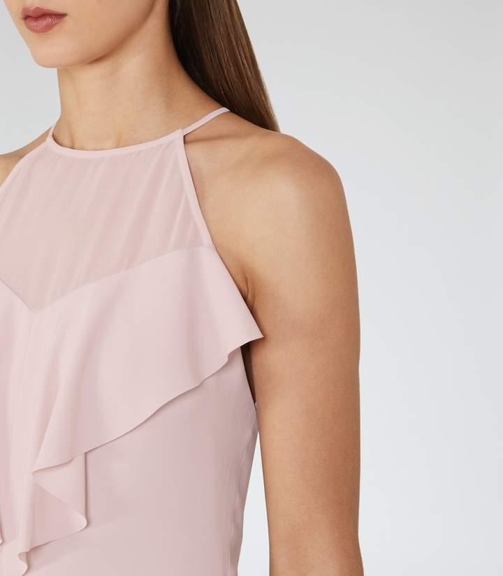 Reiss River Ruffle-Detail Dress