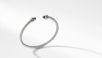 David Yurman Davidyurman Renaissance Bracelet With Amethyst And 18K Gold