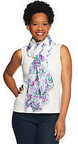 Collection XIIX Collection 18 Dancing Daisies Scarf with Fringe