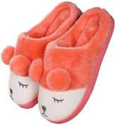 AIZHE Fluffy Funny Cartoon Sheep Cotton Warm House Winter Plush Slippers