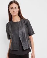 Ted Baker Short leather jacket