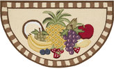 "Nourison Fruit 32"" x 19"" Kitchen Rug"