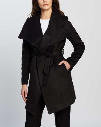 Mossman - Women's Black Winter Coats - The Everlasting Coat - Size 6 at The Iconic