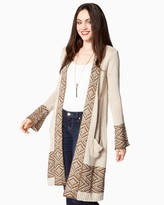 Charming charlie Tucson Duster Cardigan