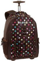 PBteen Gear-Up Coffee Dottie Rolling Backpack