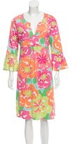 Lilly Pulitzer Silk Floral Print Dress