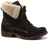 Diba Brown Jay Neen Suede Ankle Boot