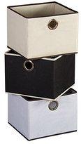 """SanLem Canvas Storage Basket (12"""" x 11"""" x 9"""") - Beige"""