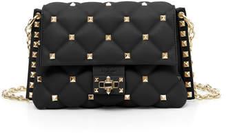 Valentino Garavani Candystud Small Leather Crossbody Bag