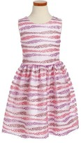 Frais Toddler Girl's Embroidered Fit & Flare Dress