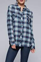 Love Stitch Lovestitch The Olivia Plaid Top